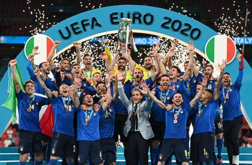 Squadra Azzurra krönt sich zum Fußball-Europameister