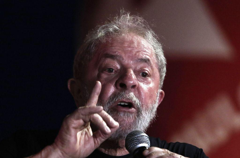Brasilens Ex-Präsident Lula soll elf Jahre in Haft. Foto: AFP