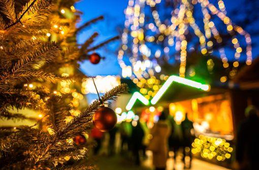 Alle Orte für einen gemütlichen Weihnachtsbummel