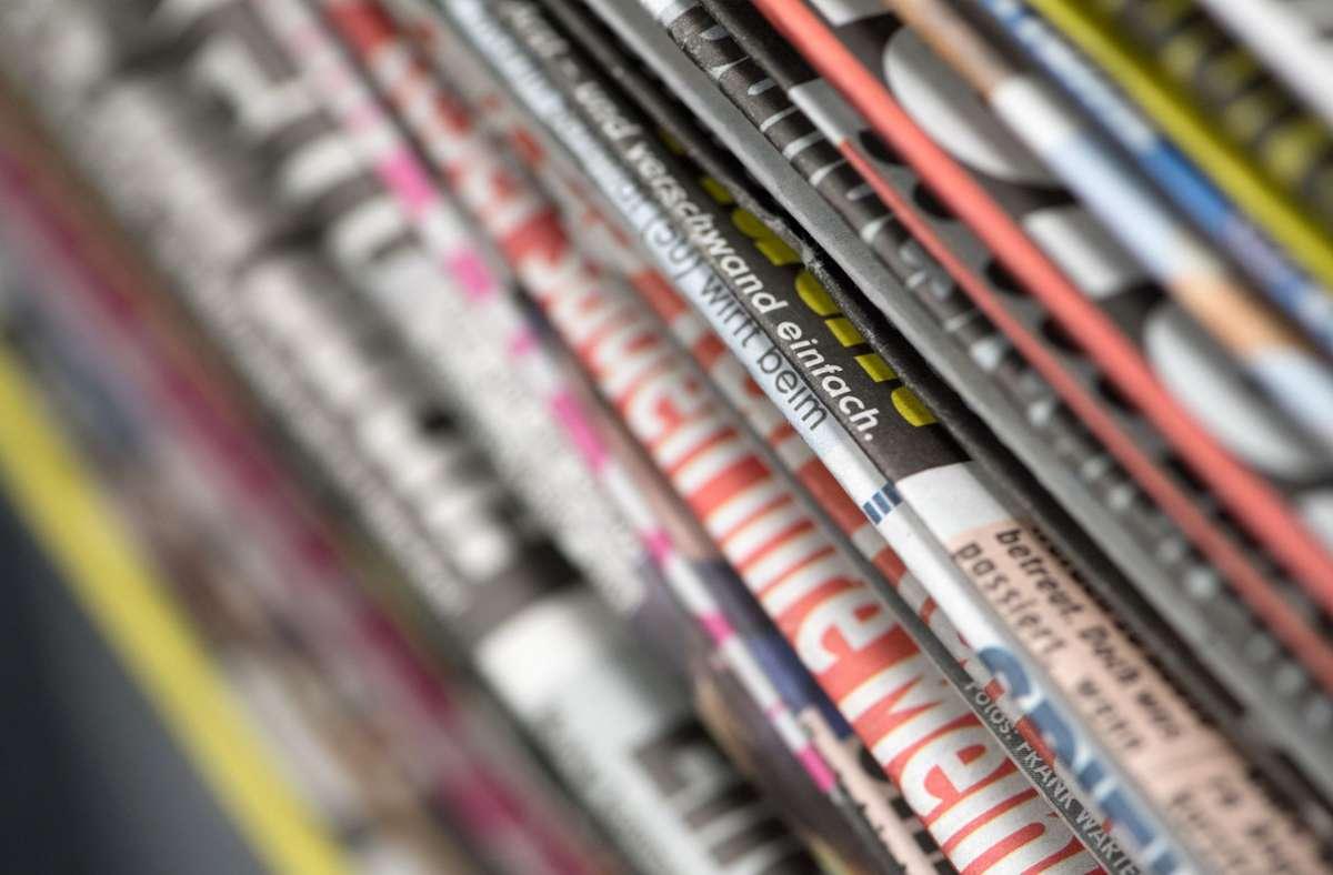 Der Staat wollte in die Förderung speziell für die Zustellung von Zeitungen und Anzeigenblättern einsteigen - doch das Ganze soll jetzt entfallen. Foto: dpa/Ralf Hirschberger