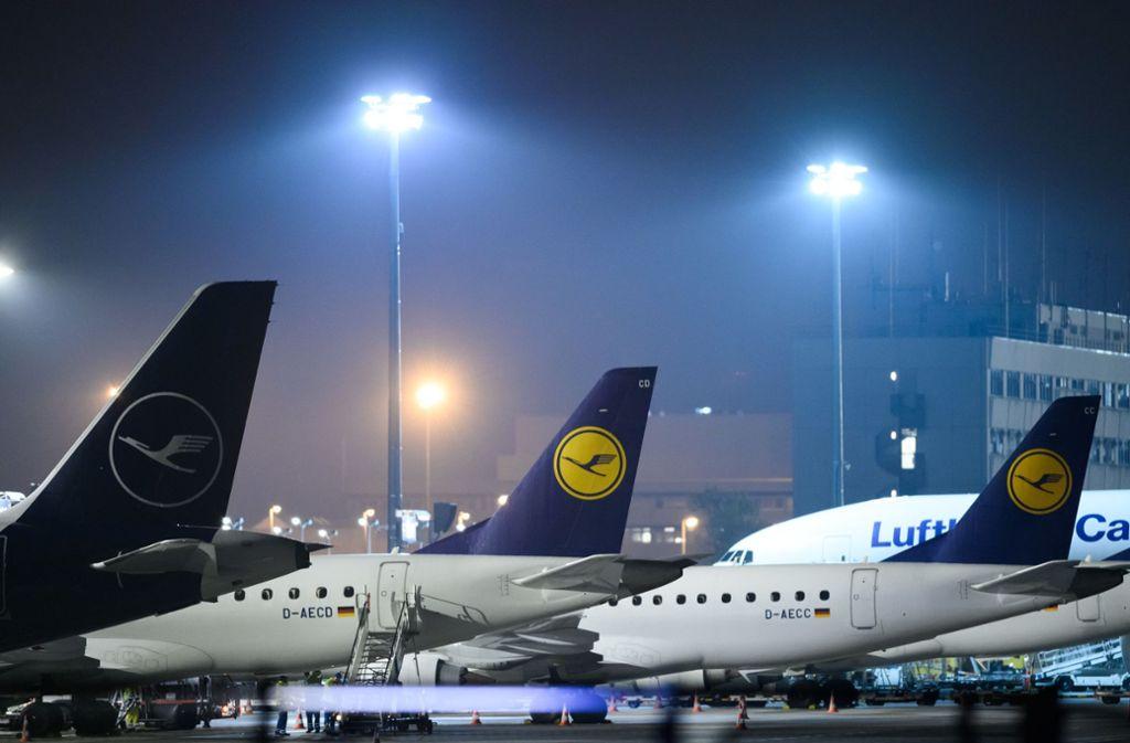 Auf die Lufthansa kommt noch in diesem Jahr wohl ein Streik zu. Foto: dpa/Silas Stein