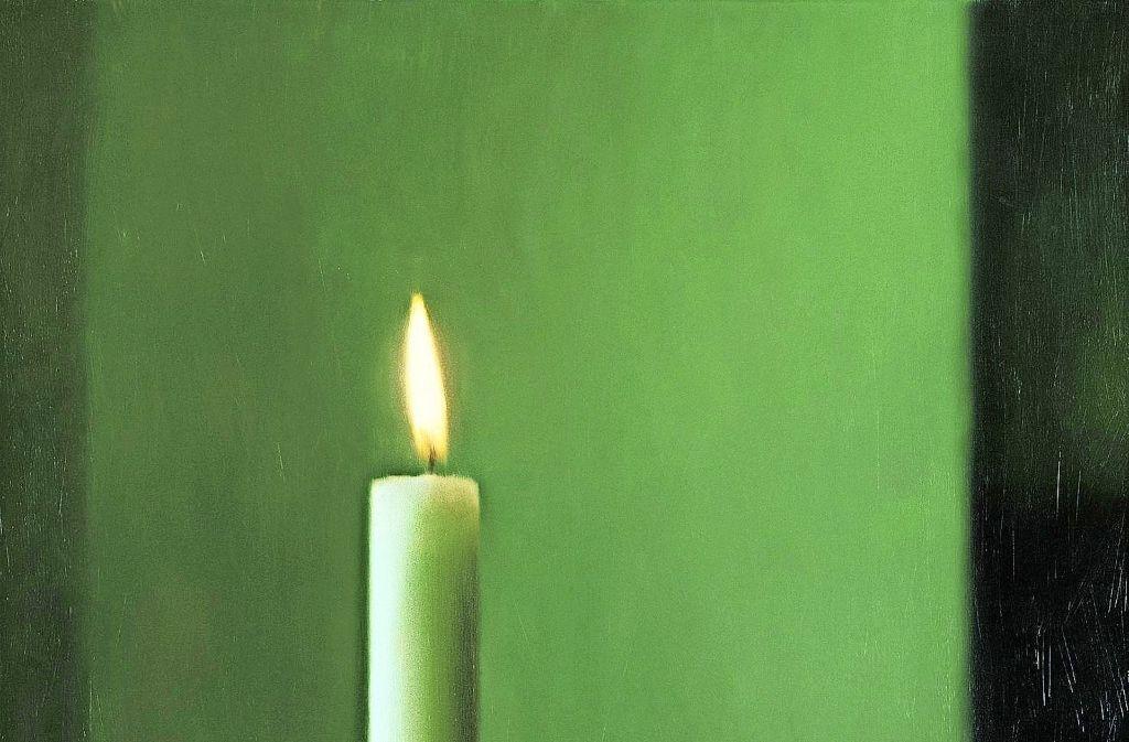"""Ikone der zeitgenössischen Kunst: Gerhard Richters """"Kerze"""" von 1982 Foto: Museum Frieder Burda"""