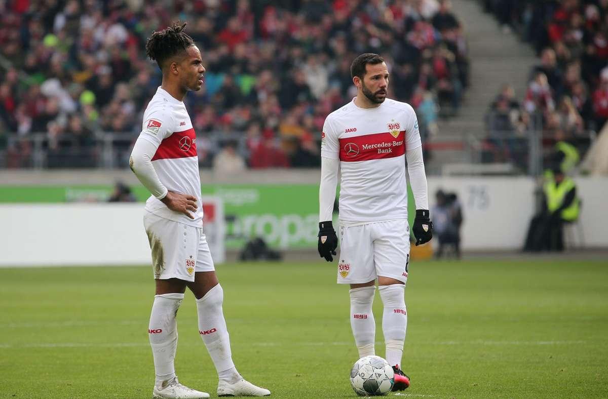Die Routiniers beim VfB Stuttgart: Daniel Didavi und Gonazlo Castro Foto: Pressefoto Baumann/Julia Rahn