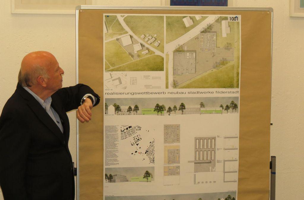 So stellen sich die Planer den künftigen Neubau der Stadtwerke vor. Foto: Otto-H- Häußer