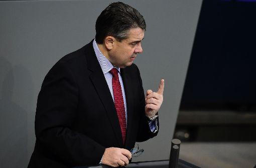 Außenminister Gabriel sagt Brüssel-Reise ab
