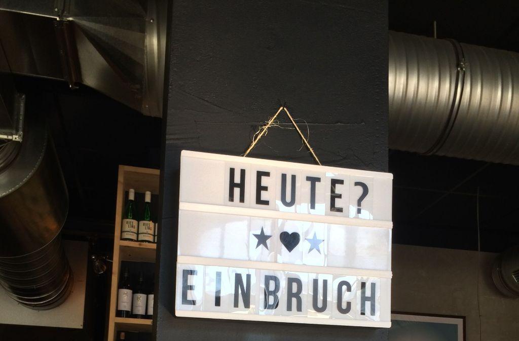Woanders gibt's Doubletime, im Immer Beer Herzen Humor aufs Haus. Foto: Sascha Maier