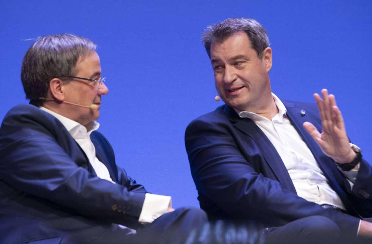 Wer war eigentlich vor Laschet oder Söder Spitzenkandidat der CDU/CSU? Foto: images/Sven Simon