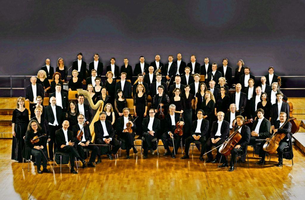 Die Stuttgarter Philharmoniker Foto: Orchester