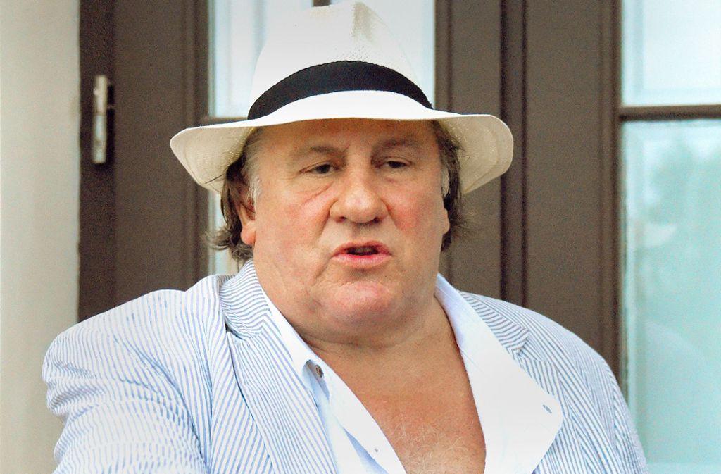 Gérard Depardieu ist mit den Jahren schon ein wenig feist geworden. Foto: dpa