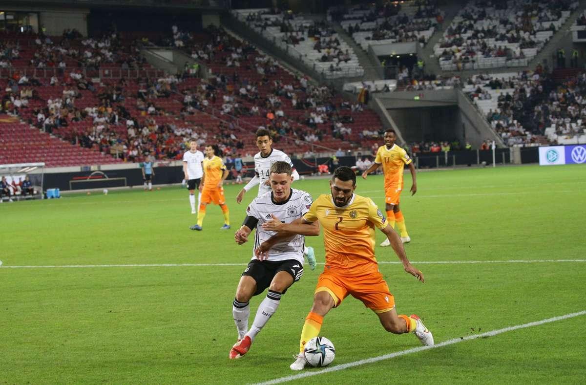 Länderspiele wie das zwischen Deutschland und Armenien im September gab es schon oft im Stadion in Stuttgart – bei der EM 2024 werden wieder mal einige dazukommen. Foto: Pressefoto Baumann/Hansjürgen Britsch