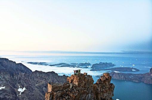 In Grönland mit einem Profiabenteurer