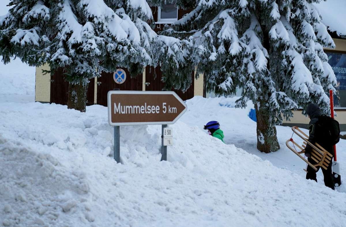 Die Wintersaison war in diesem Jahr in Baden-Württemberg fast ein Totalausfall. Foto: dpa/Benedikt Spether