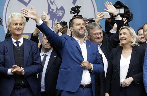 """""""Rechtspopulisten sind sich in fast nichts einig"""""""