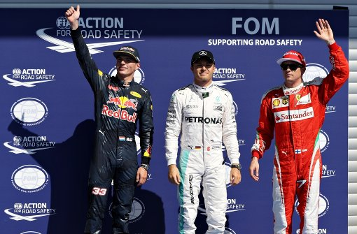 Pole für Rosberg, Hamilton ans Ende verbannt