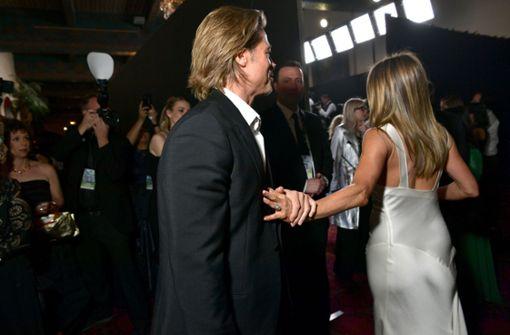Denkwürdiges Wiedersehen von Brad Pitt und Jennifer Aniston