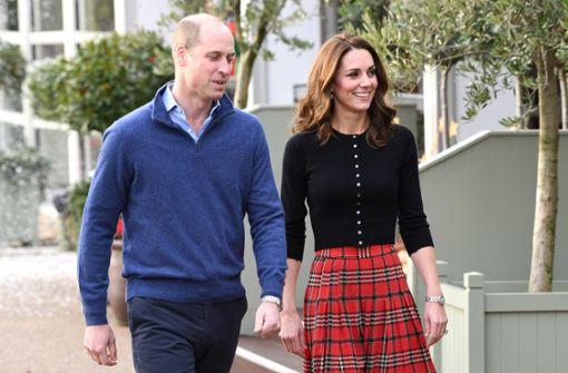 Herzogin Kate lächelt die Gerüchte einfach weg