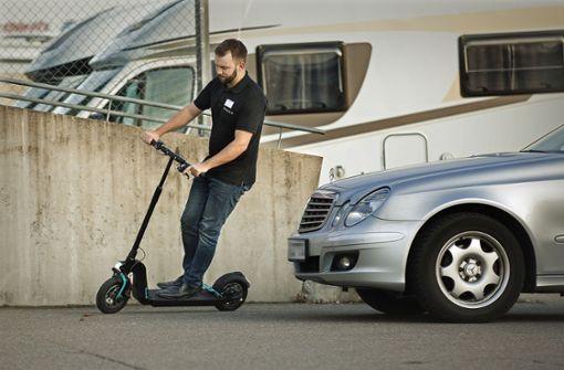 Mit dem Roller unabhängig vom Auto