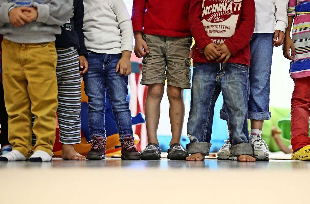 Kinder lernen in der Kita, deshalb müsse Kinderbetreuung umsonst sein, wurde im Ditzinger Gemeinderat argumentiert. Foto: dpa