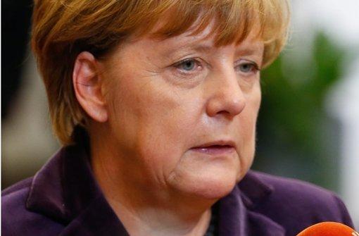 Merkel fordert harte Antwort des Rechtsstaats
