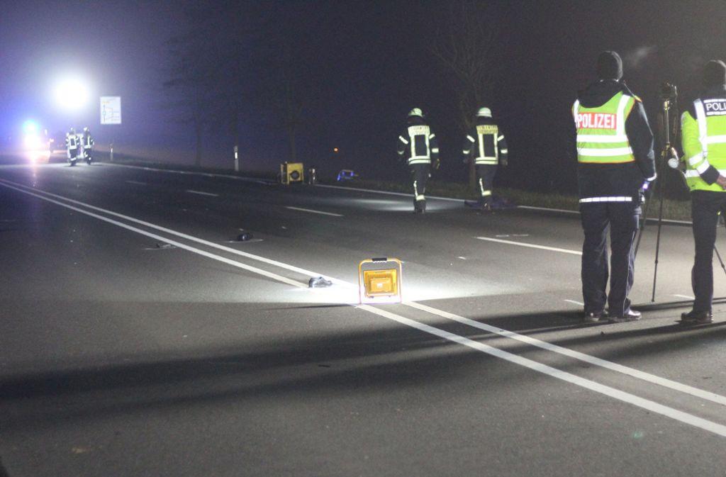 Wie kam es zum tödlichen Unfall auf der B27 bei Tauberbischofsheim? Foto: dpa/Rene Engmann