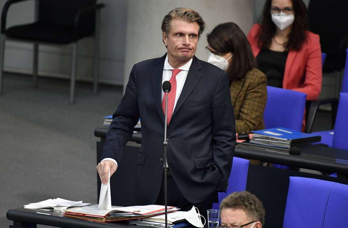 Fünfmal nach Aserbaidschan gereist: CDU-Abgeordneter  Thomas Bareiß Foto: imago images//Frederic Kern