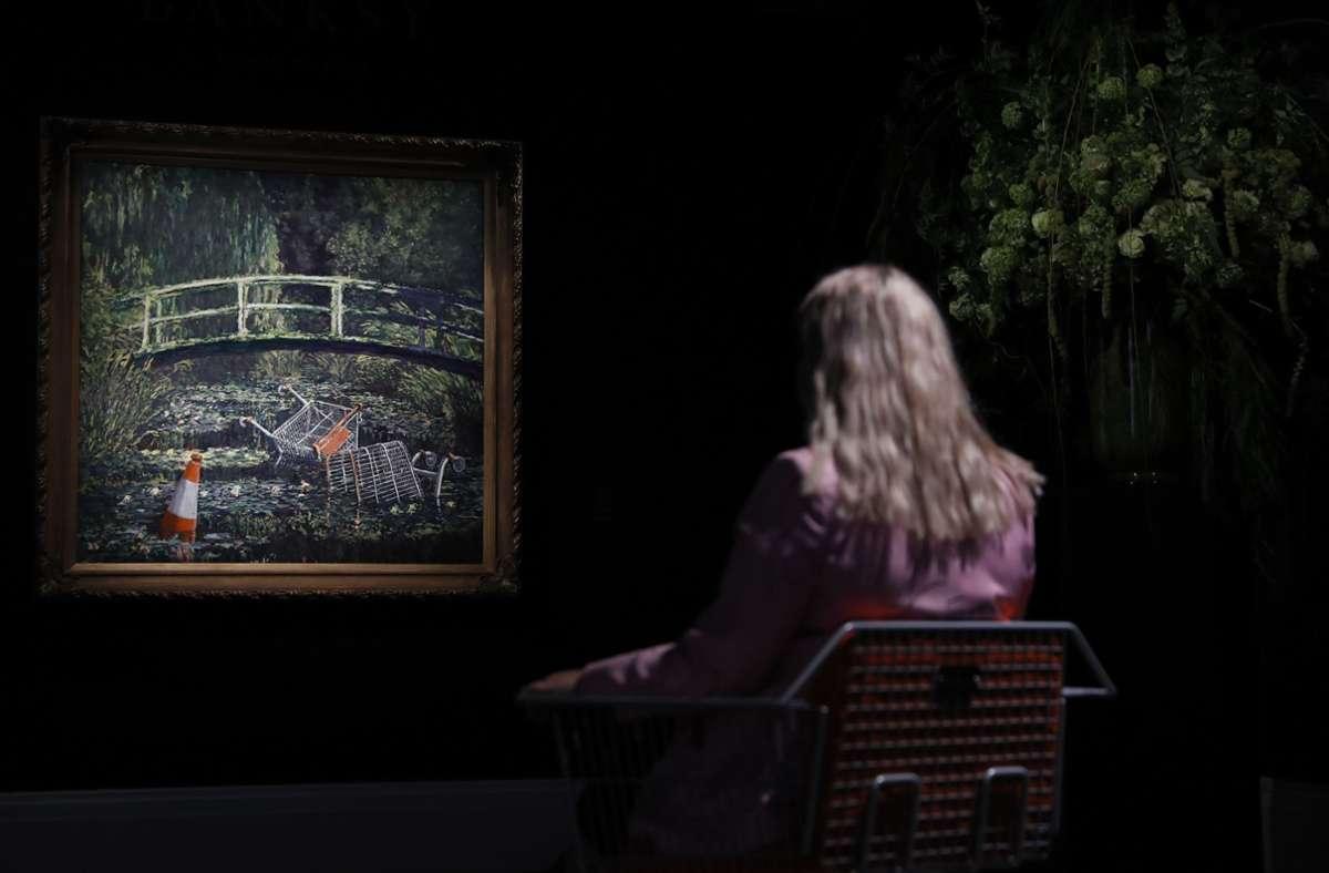 Ein Monet der anderen Art. Foto: dpa/Alastair Grant