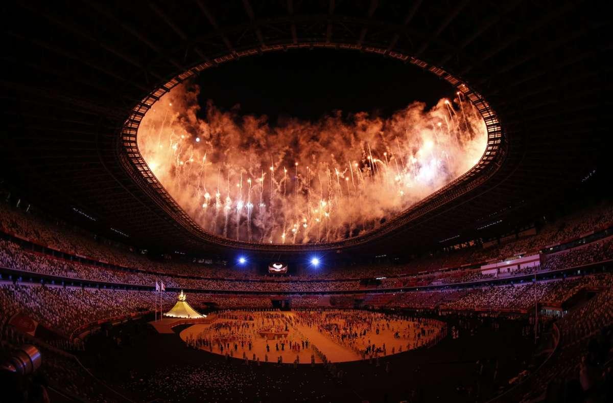 Der Marktanteil des ZDF bei der Eröffnungsfeier der Olympischen Spiele lag bei 23 Prozent und damit weit über dem Senderdurchschnitt. Foto: dpa/David G. Mcintyre