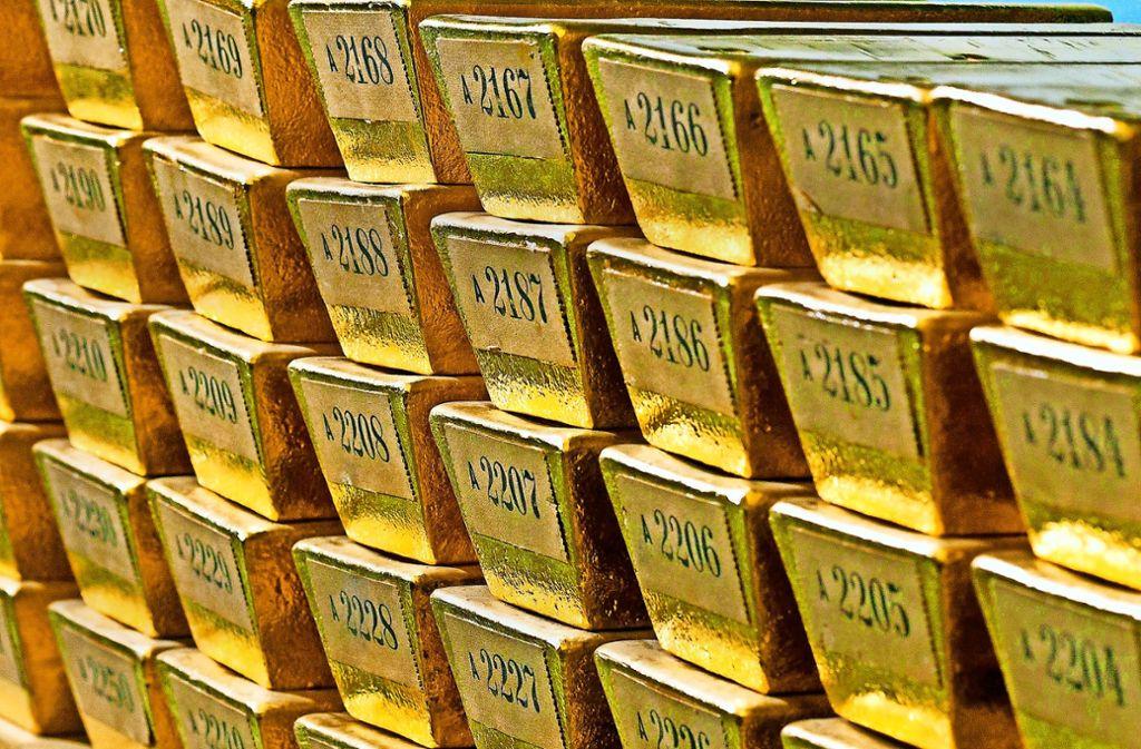 Die Hälfte des zweitgrößten Goldschatzes der Welt hat die Deutsche Bundesbank wieder im eigenen Keller liegen. Foto: Bundesbank