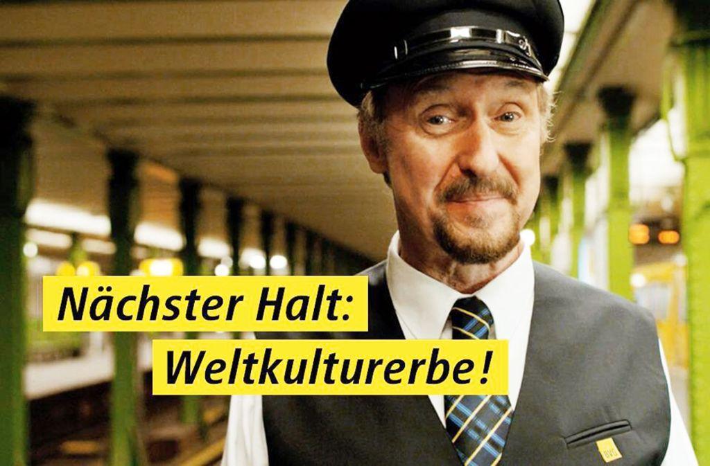 Diese Kampagne der Berliner Verkehrsbetriebe besitzt selbstironischen Charme. Foto: Spotlight