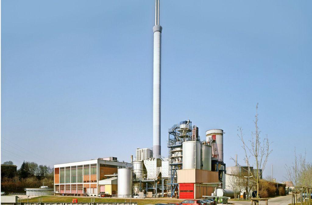 in der Anlage Stuttgart-Mühlhausen wird Klärschlamm verbrannt. Foto: Stadt Stuttgart