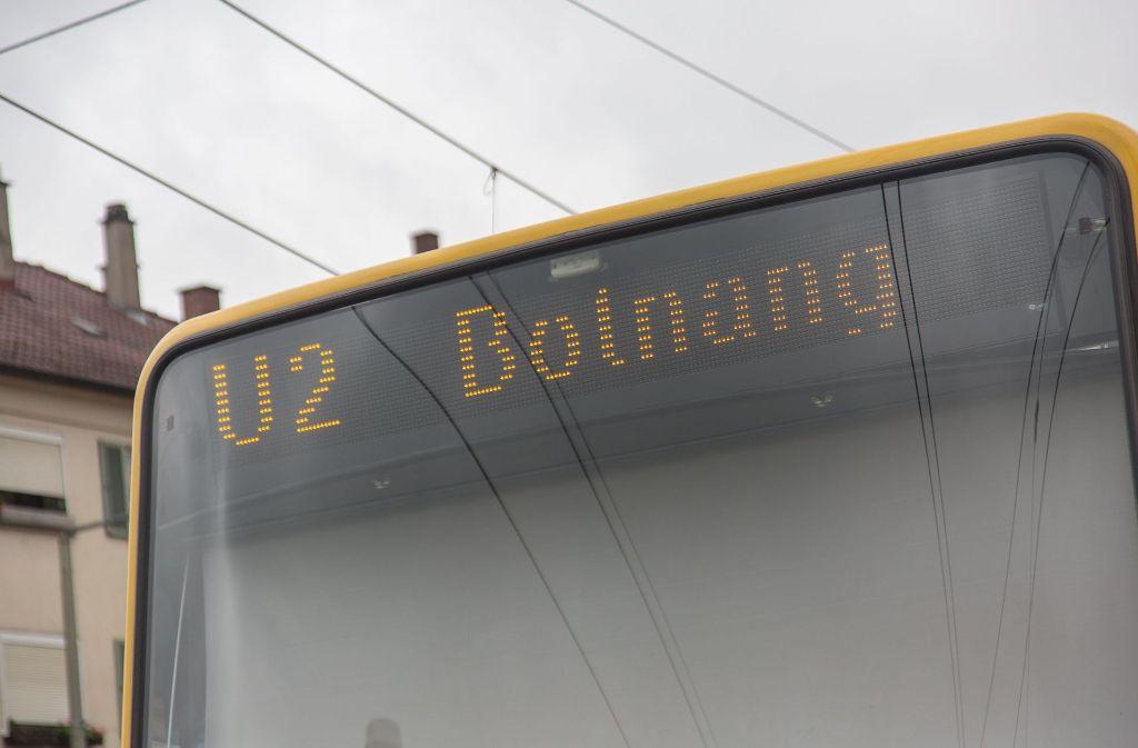 Die U2 ist eine der betroffenen Linien. Foto: 7aktuell.de/Herlinger