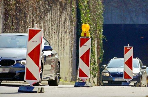 Ständig neue Hindernisse für Autos