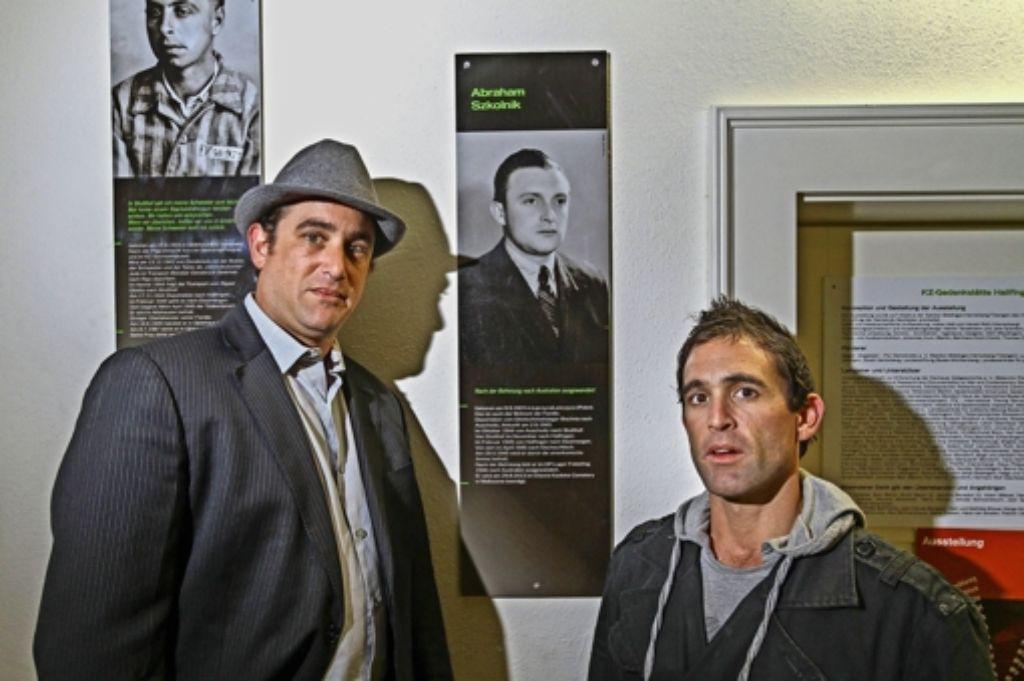 Jay Szkolnik (links) und  Bruder Lee auf den Spuren ihres Großvaters Foto: factum/Granville