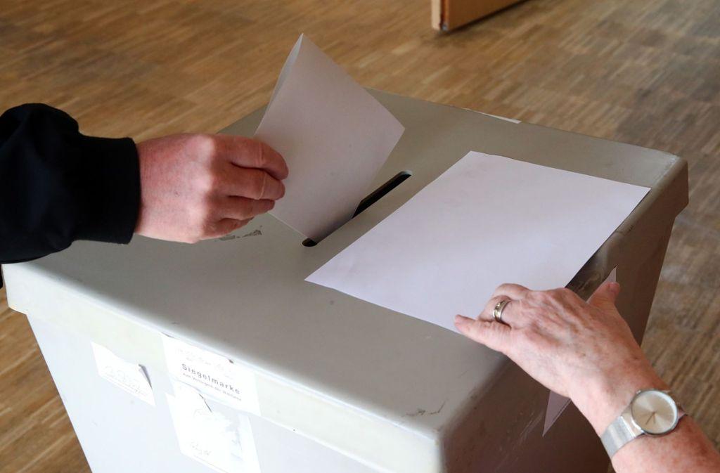 Bei der Kommunalwahl am 26. Mai haben die Bürger von Stuttgart die Wahl. Foto: dpa