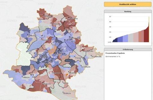 Stadt stellt Kommunalwahl-Ergebnisse für 668 Kandidaten online