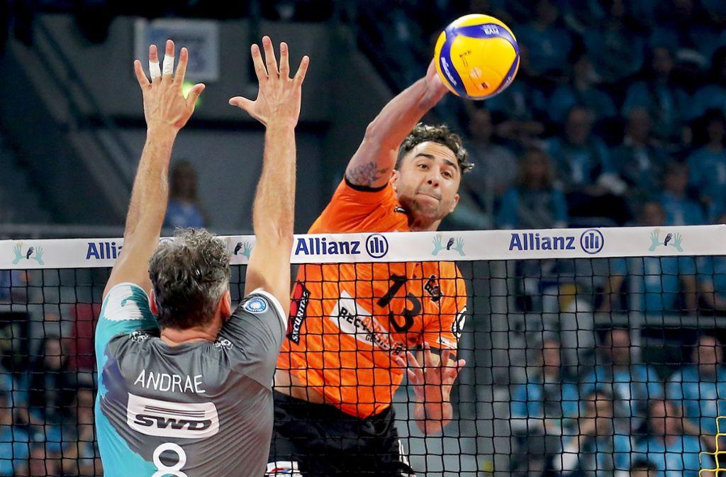 Spielt Benjamin Patch mit den  Berlin Recycling Volleys bald in Polens Liga? Foto: Baumann