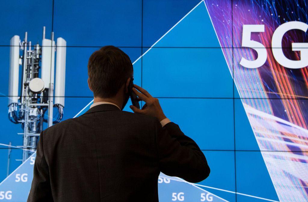 5G spielt für die deutsche Industrie eine wichtige Rolle. Foto: dpa