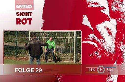 Bruno sieht rot: Auf dem Bolzplatz mit Kick-S-Chef Philipp Maisel