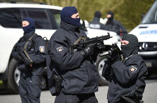 Lkw-Fahrer bei Anti-Terror-Test schwer verletzt