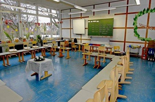 Lösungsmittel stinken in Höfinger Grundschule