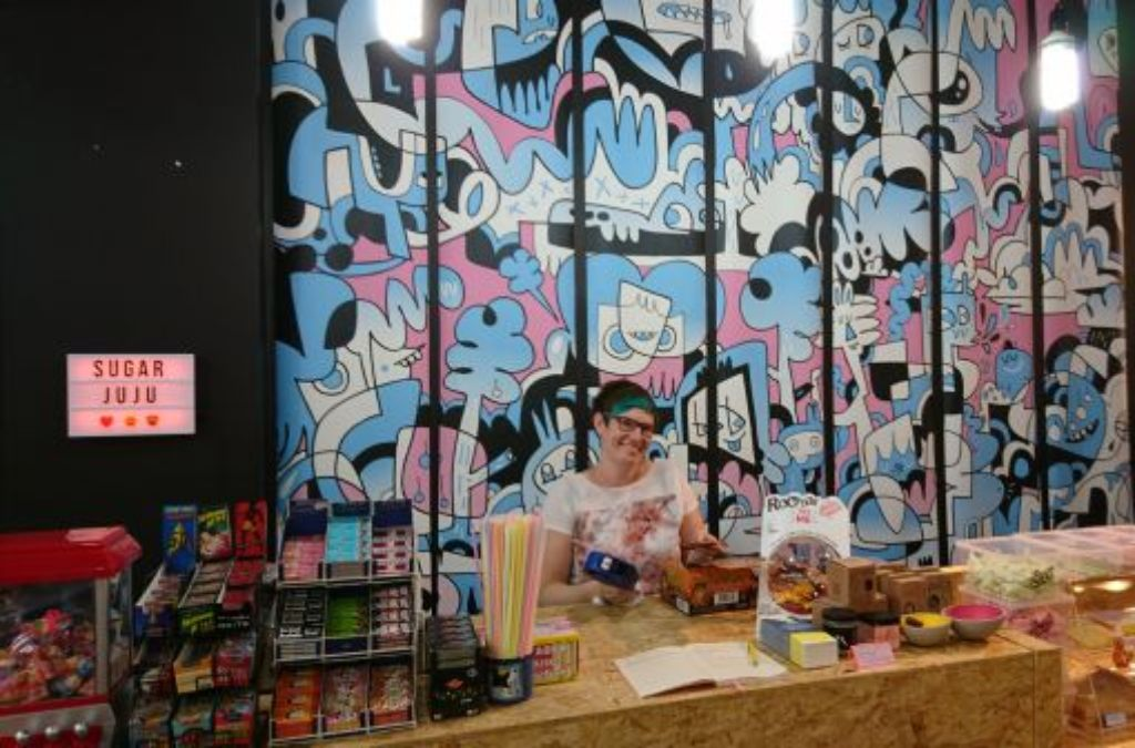 An die Tafeln, fertig, los: Die schönsten Süßigkeitenläden der Stadt. Wir starten mit Sugar Juju... Foto: Björn Springorum