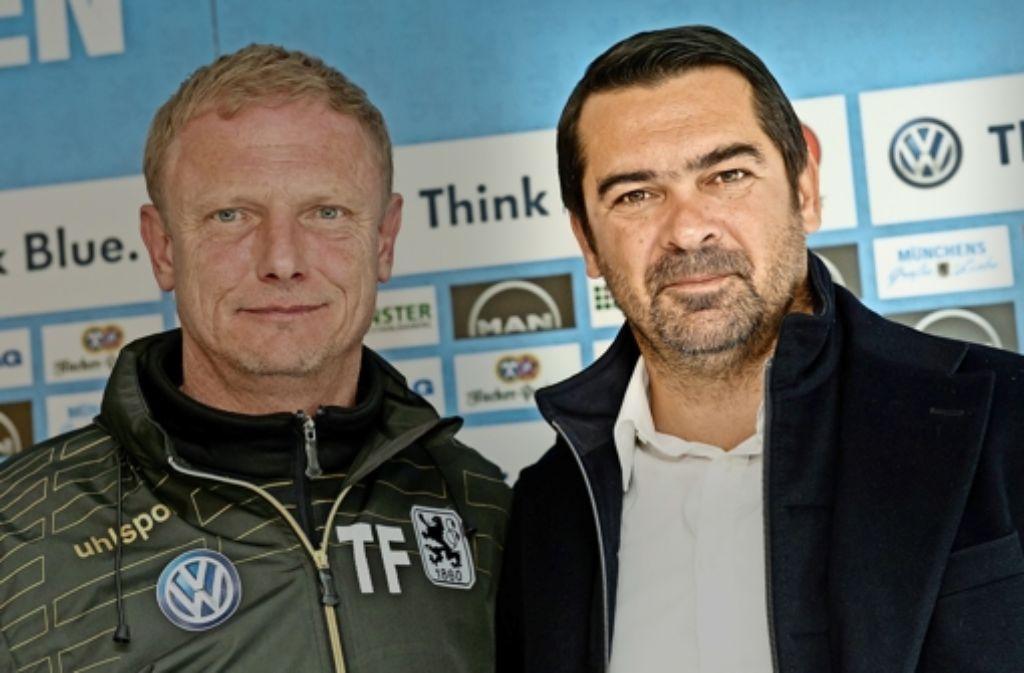 Auch unter Sportdirektor Gerhard Poschner kehrt bei 1860 München keine Ruhe ein. Foto: