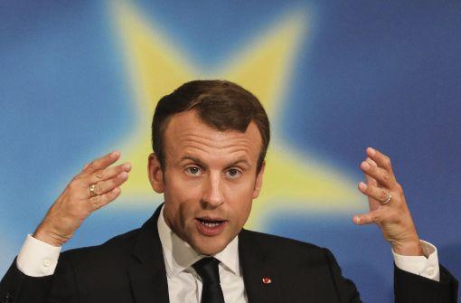 Macron braucht eine Antwort