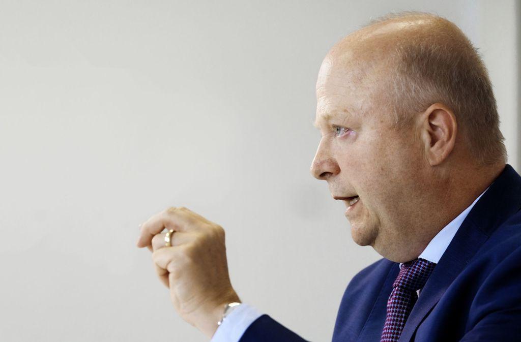 Michael Theurer ist der Landesvorsitzende der FDP in Baden-Württemberg. Foto: dpa/Bernd Weissbrod