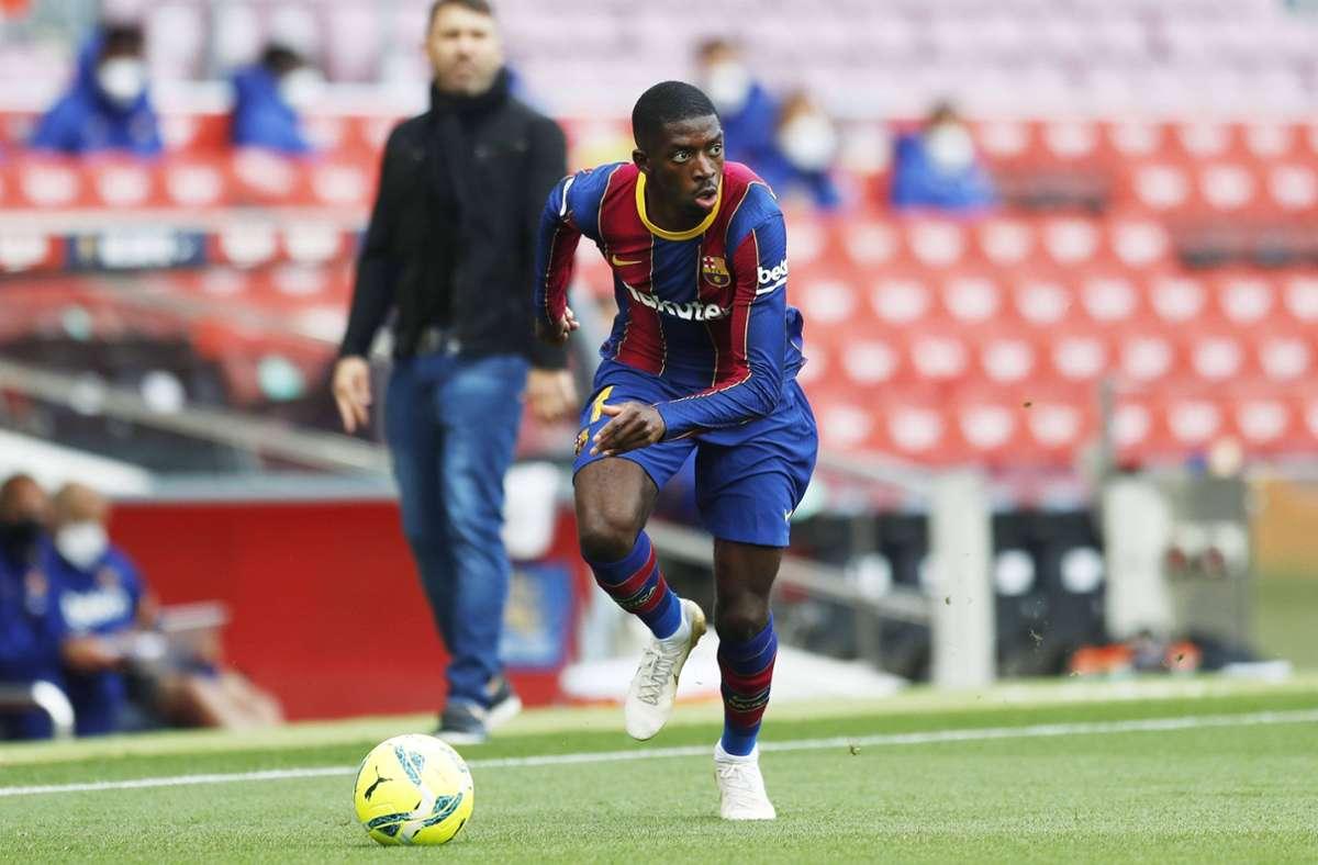 Einer der bekanntesten Fälle aus der Vergangenheit: Der Ex-Dortmunder Ousmane Dembélé erschien nicht mehr zum Training, um sich zum spanischen Topclub FC Barcelona zu streiken. Das klappte dann im August 2017.  Foto: imago/Aflosport
