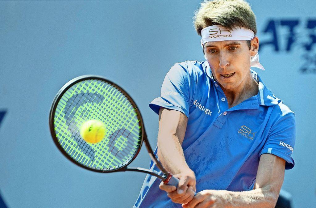 Mit unbändigem Willen zurück im Tennis-Zirkus: Cedrik-Marcel Stebe. Foto: AP