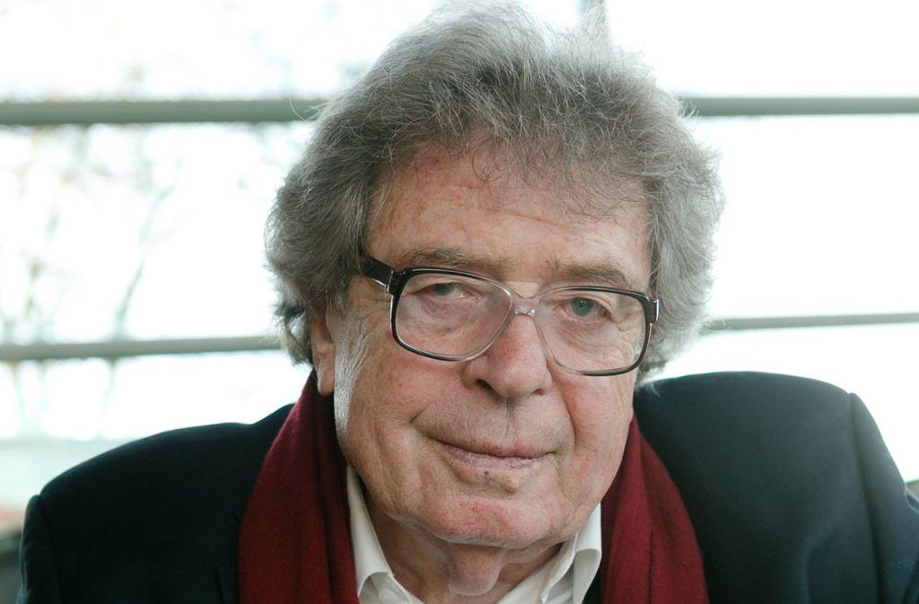 György Konrad (1933-2019) Foto: dpa/Markus Scholz