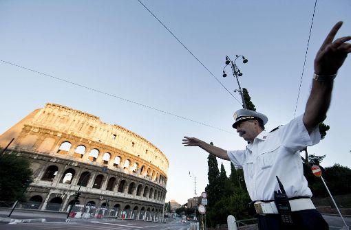 Der Sonntag gehört  in Rom der Umwelt