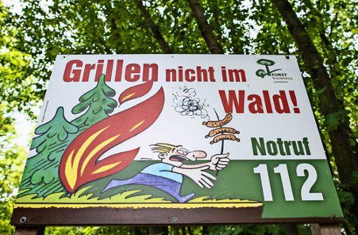 Leonberg verhängt ein Grillverbot