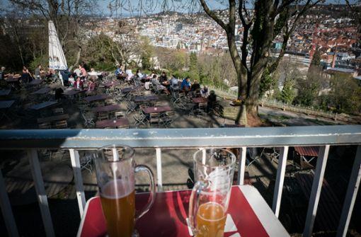 Stuttgarter Biergarten startet in die Saison